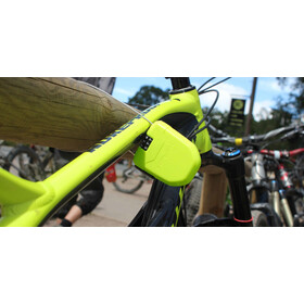 Hiplok FX Cykellås med refleks gul